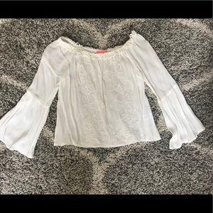 White blouse!